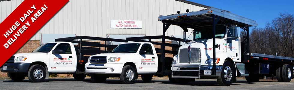 Local Used Auto Parts Delivery Service for VA